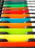 Pluma del color Fotografía de archivo libre de regalías