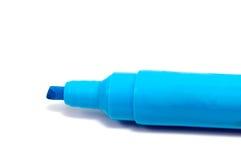Pluma del highlighter del marcador aislada en el fondo blanco Fotografía de archivo