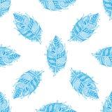 Pluma dibujada mano del zentangle en el fondo blanco Imágenes de archivo libres de regalías
