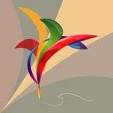Pluma geométrica 1 Fotografía de archivo libre de regalías