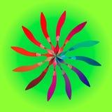 Pluma geométrica 2 Fotos de archivo