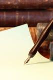 Pluma vieja Foto de archivo libre de regalías