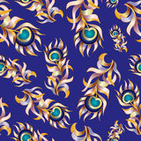 Plumage background seamless pattern vector Stock Images