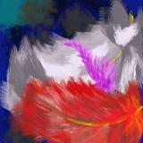 plumas fotografía de archivo libre de regalías