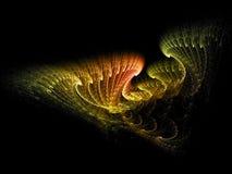 Plumas abstractas Fotografía de archivo libre de regalías