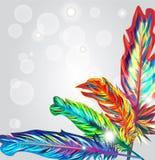 Plumas brillantes libre illustration