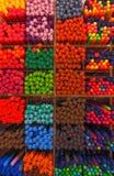 Plumas coloridas Fotografía de archivo