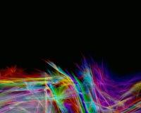 Plumas del arco iris Fotografía de archivo libre de regalías