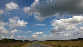 Plumas en el cielo Fotos de archivo libres de regalías