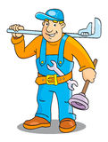 Plumber Royalty Free Stock Photo