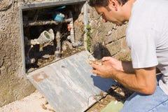 Free Plumber At Work Stock Image - 27649761