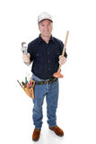Plumber Full View Royalty Free Stock Image