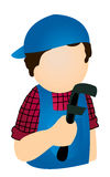Plumber Icon Stock Photography