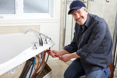 Plumber. Royalty Free Stock Images