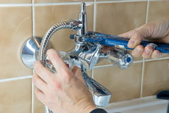 Plumber tap Royalty Free Stock Images