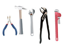 Plumber Tools Stock Photo