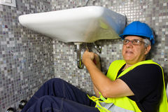 Plumber Royalty Free Stock Photography