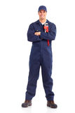 Plumber worker Royalty Free Stock Image