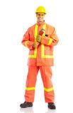Plumber worker stock photos