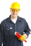 Plumber worker stock images