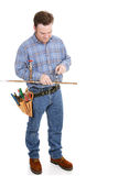 Plumber Working Full Body Royalty Free Stock Photo