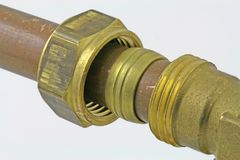 plumbing Fotografie Stock Libere da Diritti
