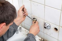 Plumbing Royalty Free Stock Image