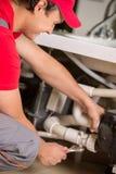 plumbing Στοκ Φωτογραφία