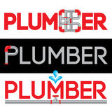 Plumbing Business logo Vector Set. Royalty Free Stock Image