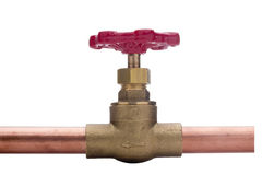 Plumbing connection Royalty Free Stock Photo