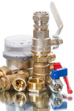 Plumbing details Royalty Free Stock Image