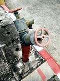 Plumbing Fire. Royalty Free Stock Photo