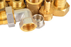 Plumbing fitting and tubulure Stock Images