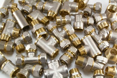 Plumbing Fittings Stock Photos