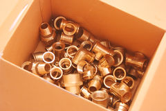 Plumbing fittings royalty free stock images