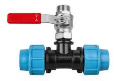 Plumbing fittings Stock Photos