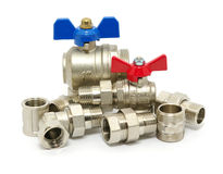 Plumbing fixtures Royalty Free Stock Photos