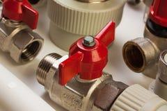 Plumbing fixtures Stock Photos