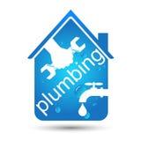 Plumbing home repair design Stock Photos