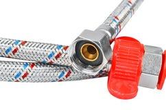 Plumbing hosepipe Stock Photos