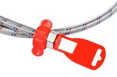 Plumbing hosepipe Stock Photo