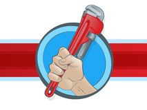 Plumbing Icon Stock Photography