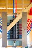 Plumbing manifold system PEX tubing Stock Images
