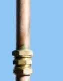 Plumbing pipe Stock Photo