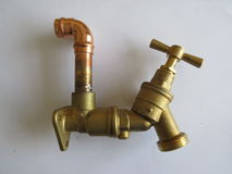 Plumbing pipework Stock Images