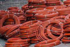 Plumbing Poly-Prop Piping  Royalty Free Stock Images