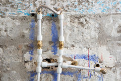 Plumbing Renovation Royalty Free Stock Photography