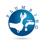Plumbing service Royalty Free Stock Image