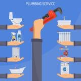 Plumbing Service Concept Stock Photo
