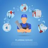 Plumbing Service Concept Stock Image